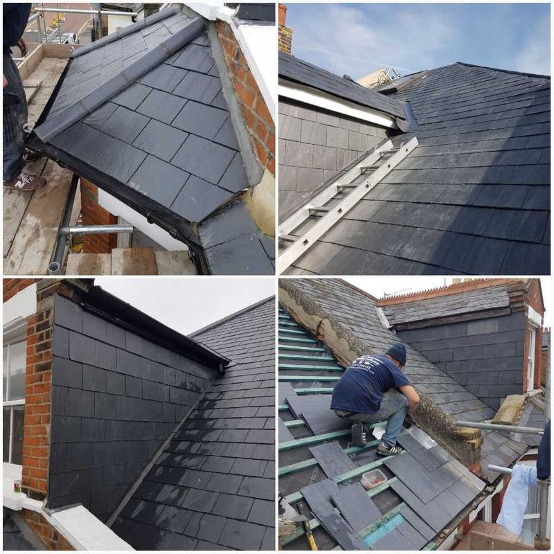 Image 9 - New Natural Slate Roof With A With A Ten Year Insurance Back Guarantee