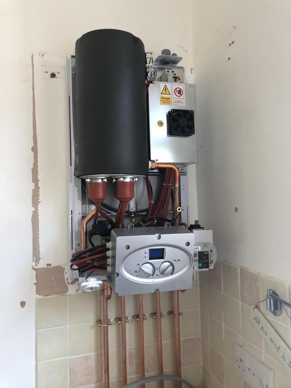 Image 8 - Electric Combi boiler