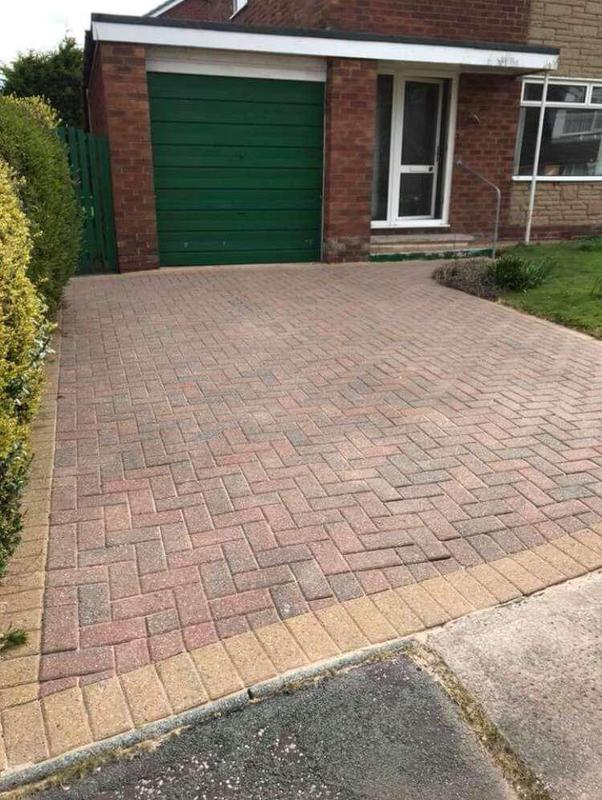 Image 66 - Driveway after pressure cleaned and re-sanded