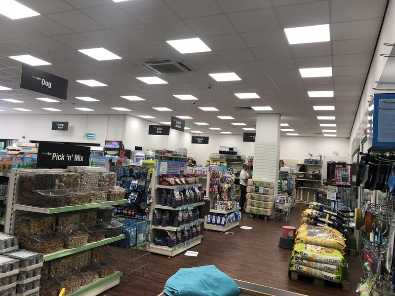 Image 63 - LED lighting to a pet shop in northampton
