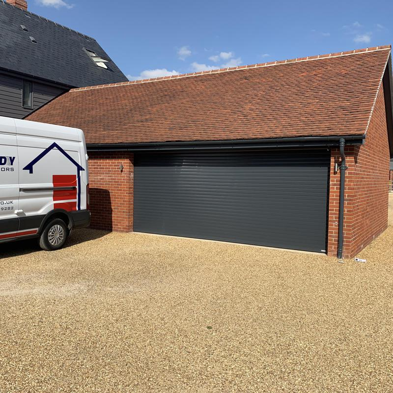 Image 11 - Gliderol roller shutter finished in anthracite