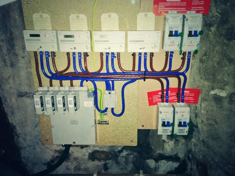 Image 21 - Sub Meter installation Rewire of apartments Stockport electrician