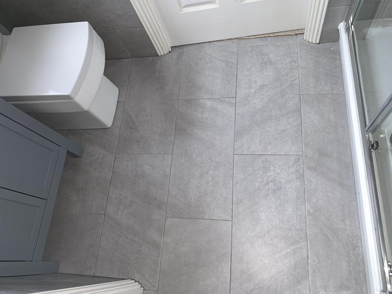 Image 32 - After. Crayford, Bareburn Park. Bathroom refurb
