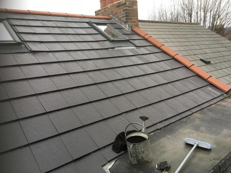 Image 13 - New roof installed with velux windows felt bay, fascia boards and guttering installed