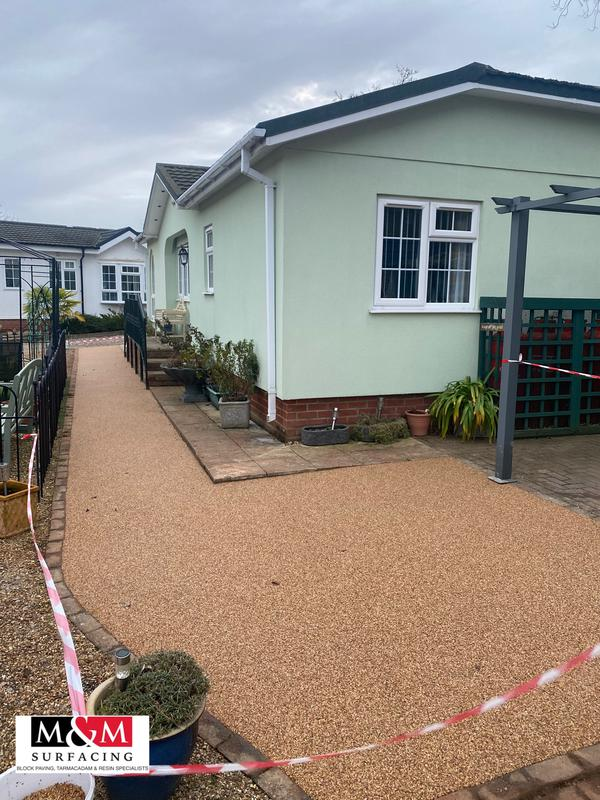 Image 60 - Resin bound surfacing completed