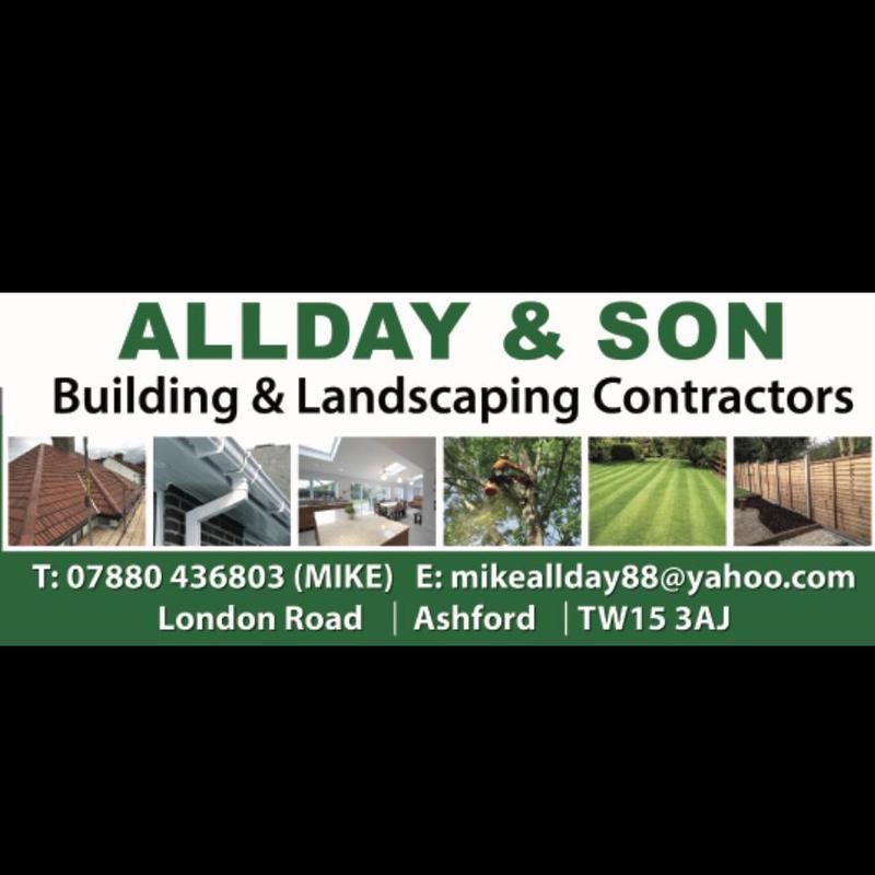 Allday & Son Building and Landscaping Contractors logo