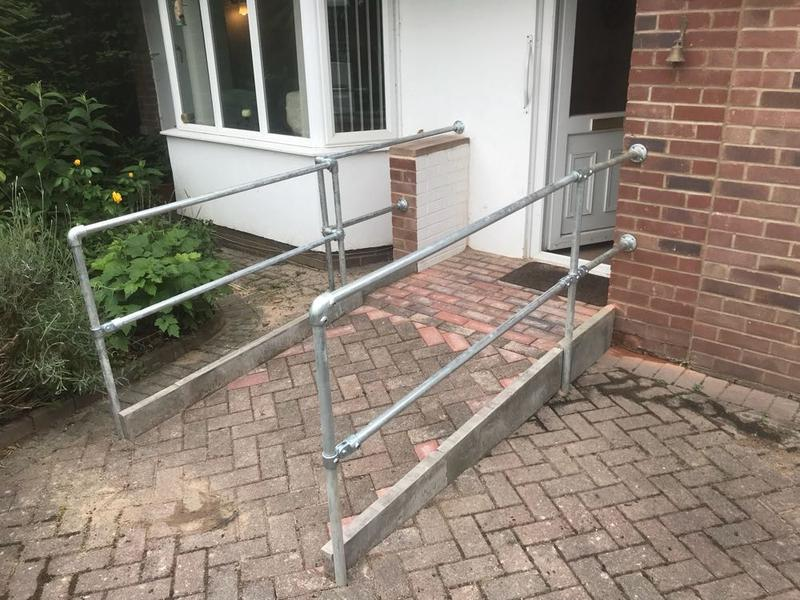 Image 58 - handrails fitted and another tidy job complete