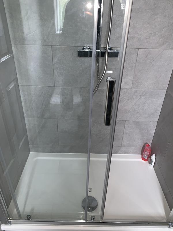 Image 30 - After. Crayford, Bareburn Park. Bathroom refurb. Shower