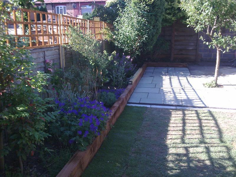 Image 18 - Garden work completed!