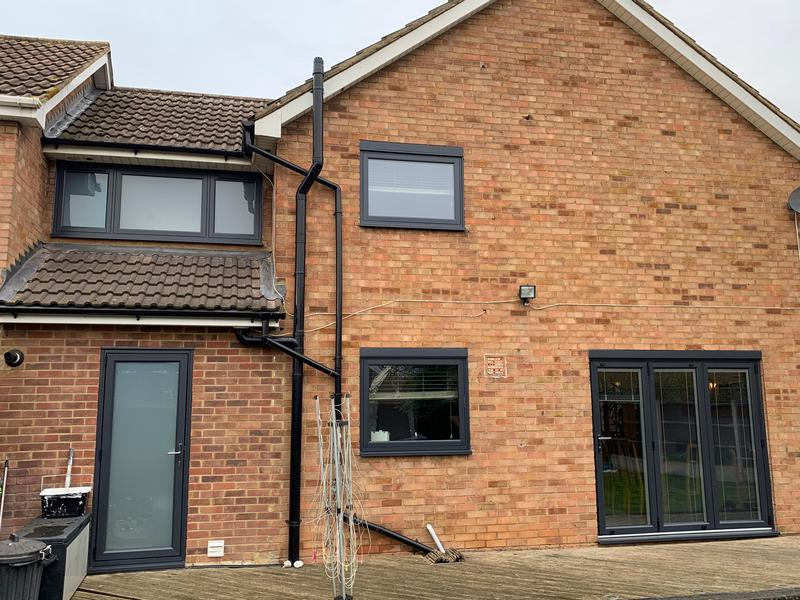Image 21 - Basildon-Flush sash windows-Anthracite Grey