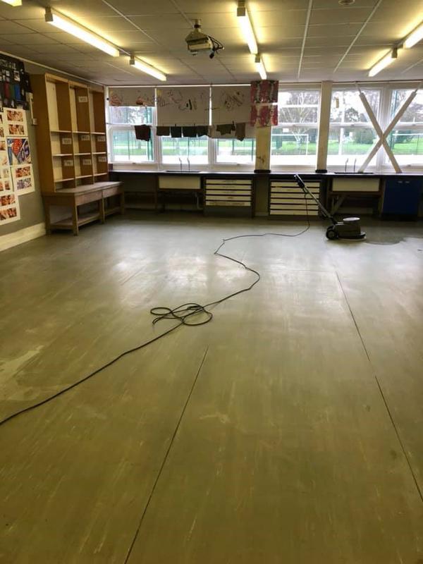 Image 3 - Classroom Floor Clearance