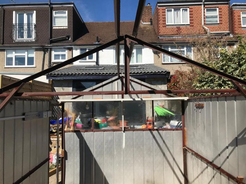 Image 13 - An example of a garage roof safely removed for a customer in Twickenham