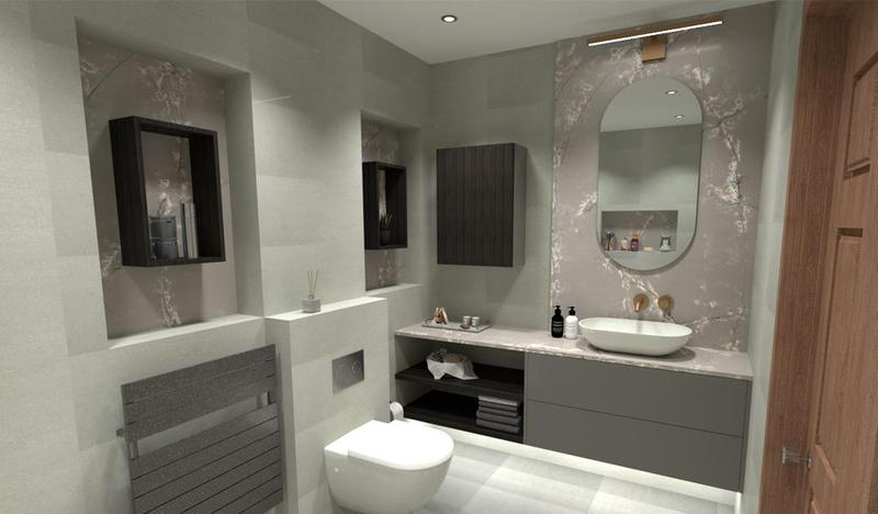 Image 22 - Bathroom design.