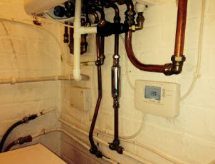 Image 12 - central heating control wire ups