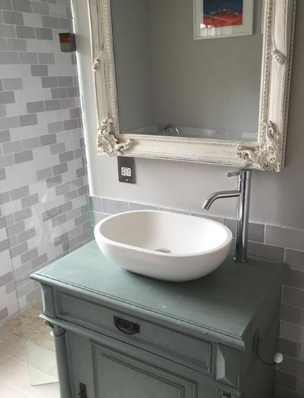 Image 2 - Another example of where we are able to customise and adapt anything to our clients specifications, here we was able to fit a contemporary basin to a 35 year old reclaimed and rejuvenated unit. At LCA we've got you covered