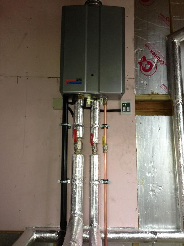 Image 25 - Faulty Direct Fired Water Heater, Lochinvar Replaced With New Rinnai Instantaneous Water Heater 1 of 2