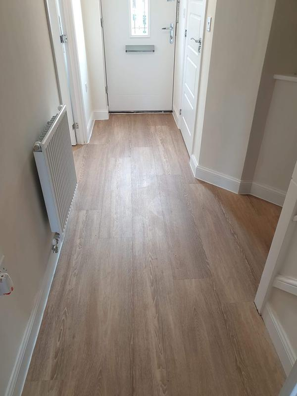 Image 6 - A few pics from our recent Karndean Designflooring project. Laid throughout the hallway, kitchen and bathroom. Easy clean and comes with a lifetime guarantee 👌