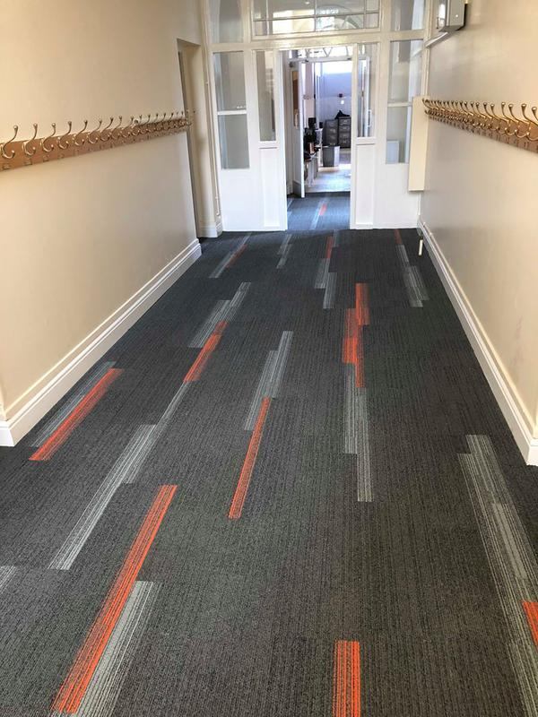 Image 17 - Commercial Interface design carpet tiles in local School
