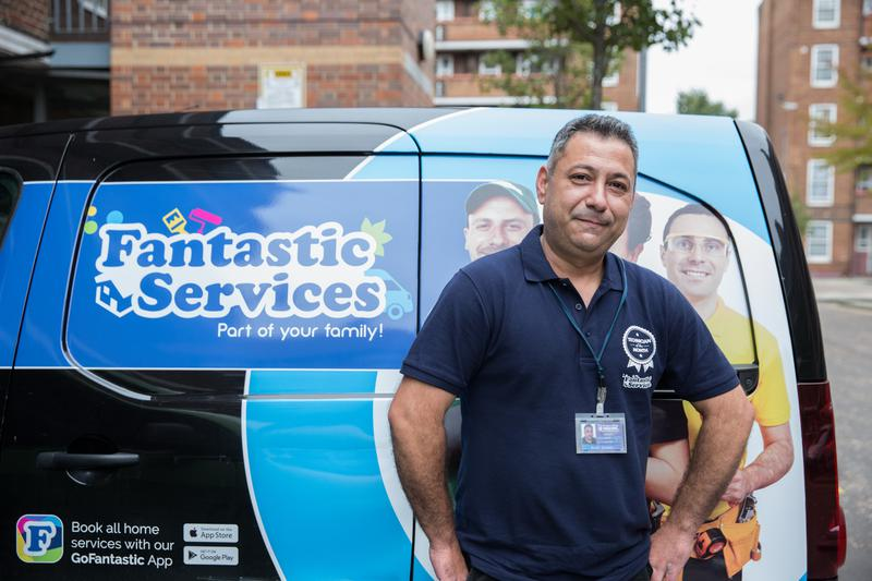 Image 5 - Fantastic Services team mmeber