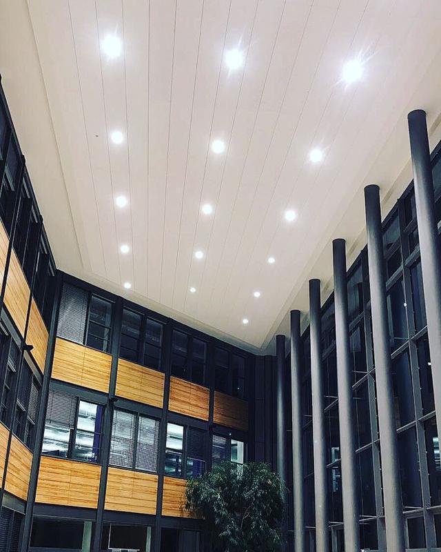 Image 16 - Repairs on extreamly high lighting via boom lift