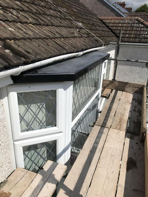 Image 82 - First floor bay roof replacement in Rubber, Allesley, Completed Aug 2019.