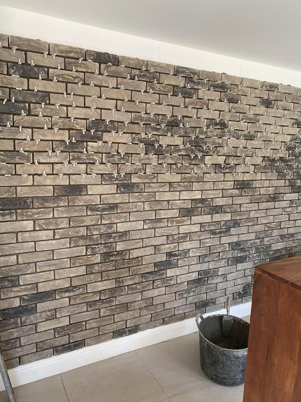 Image 24 - Brick slips feature wall
