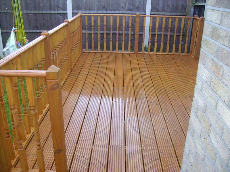 Image 12 - deck with handrail