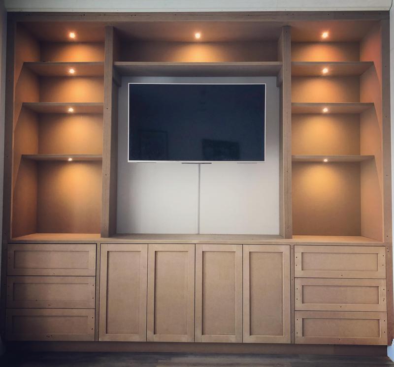 Image 11 - Bespoke Tv/media storage unit