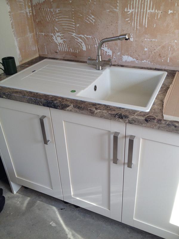 Image 43 - Kitchen sink install