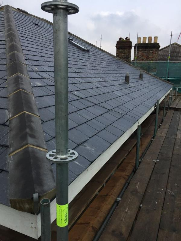Image 43 - Re-Roof Using Natural Spanish Slates - West Hampstead, London