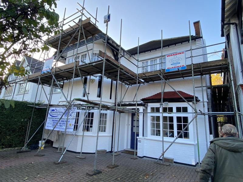 Image 16 - Painting all wood and masonry to complete property, and roof overhaul.