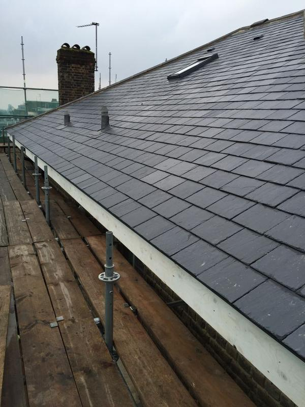 Image 38 - Re-Roof Using Natural Spanish Slates - West Hampstead, London