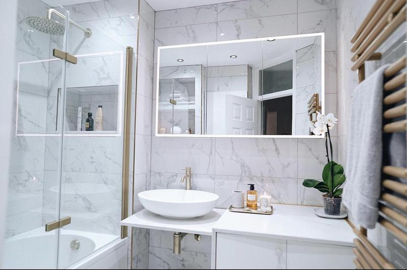 Image 2 - Bathroom Refurbishment video, Gold and White, NW6