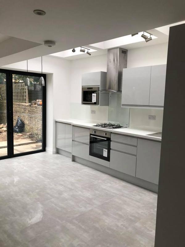 Image 22 - Rear extension, new kitchen, bathroom, Kilburn