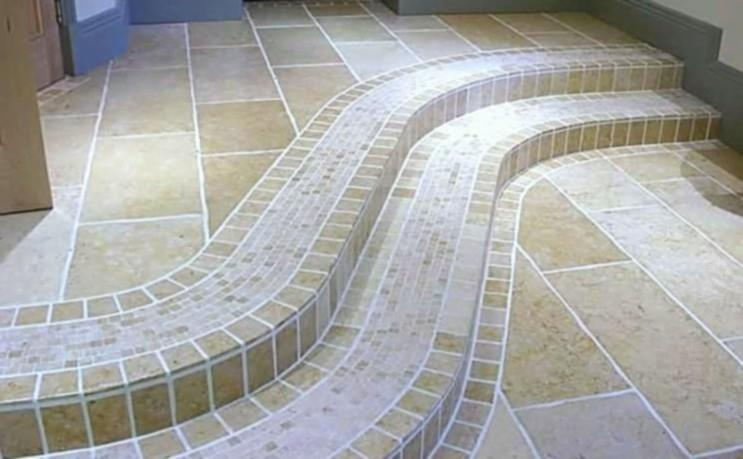 Image 1 - Steps hand polished indian limestone