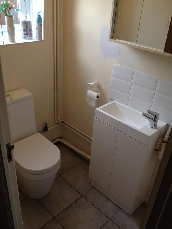 Image 32 - New cloakroom