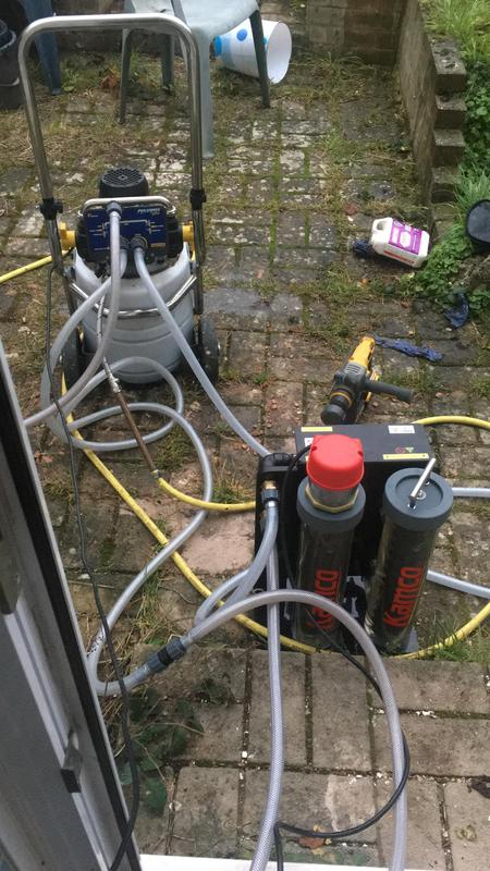 Image 8 - Power flush with magnet filter
