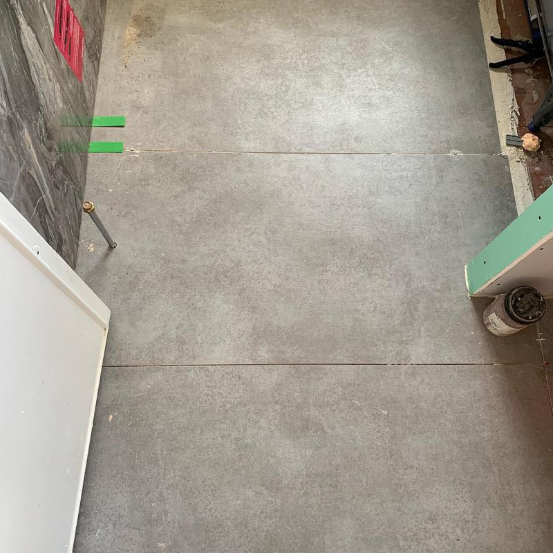 Image 1 - New bathroom floor