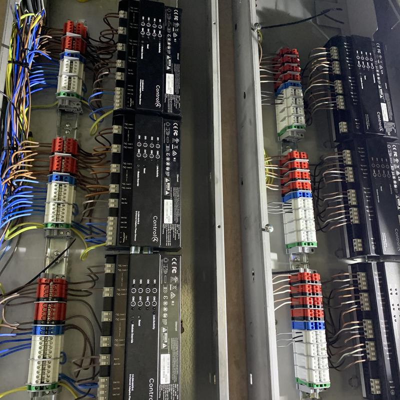 Image 11 - Control 4 panel for lighting, Music, heating and cooling