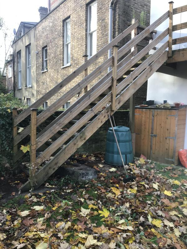 Image 3 - External decayed garden stairs to be replaced
