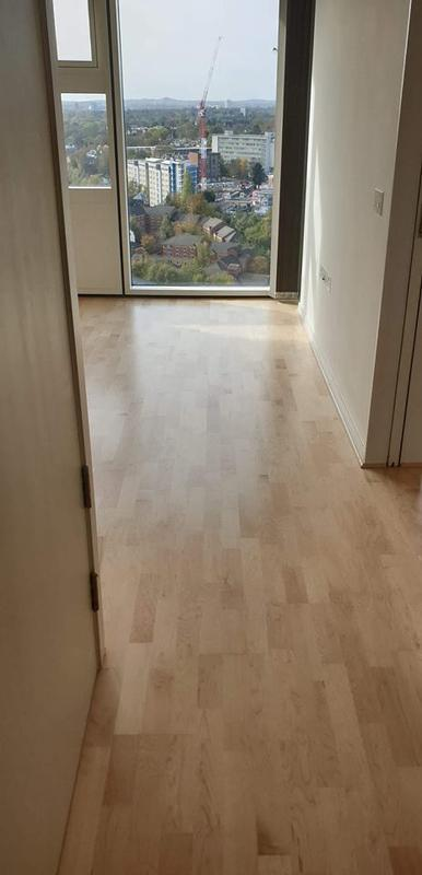Image 5 - Laminate flooring project in nearby flat.Floor prep + underlay + product.Supply and fit.
