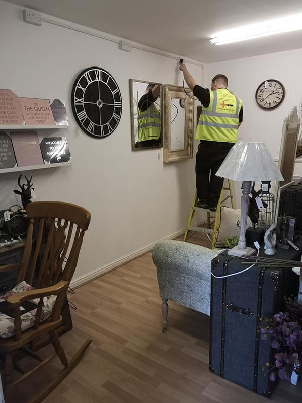 Image 34 - Inspection and testing of a antiques shop