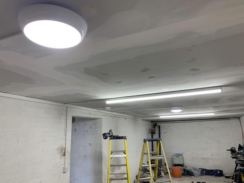 Image 47 - Garage lighting install.