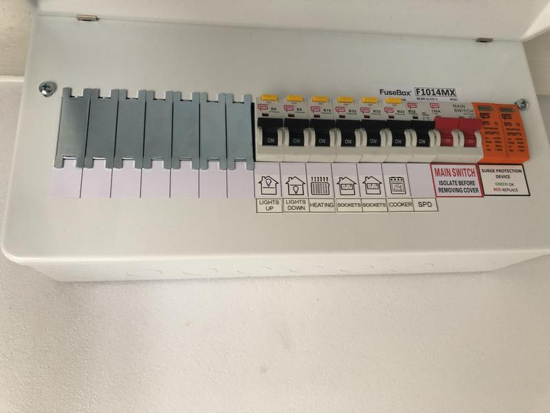 Image 3 - RCBO consumer unit with Surge Protection