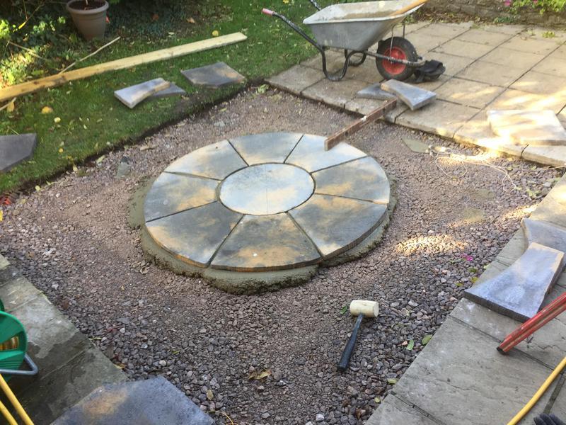 Image 9 - Fancy shaped concrete slab .