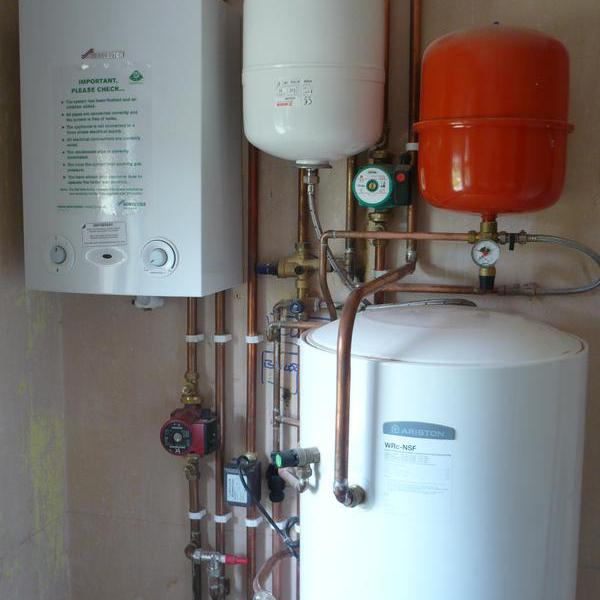 Image 70 - Un-vented Hot Water System