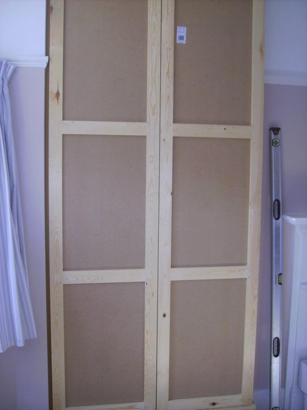 Image 4 - mdf wardrobe with shaker style doors