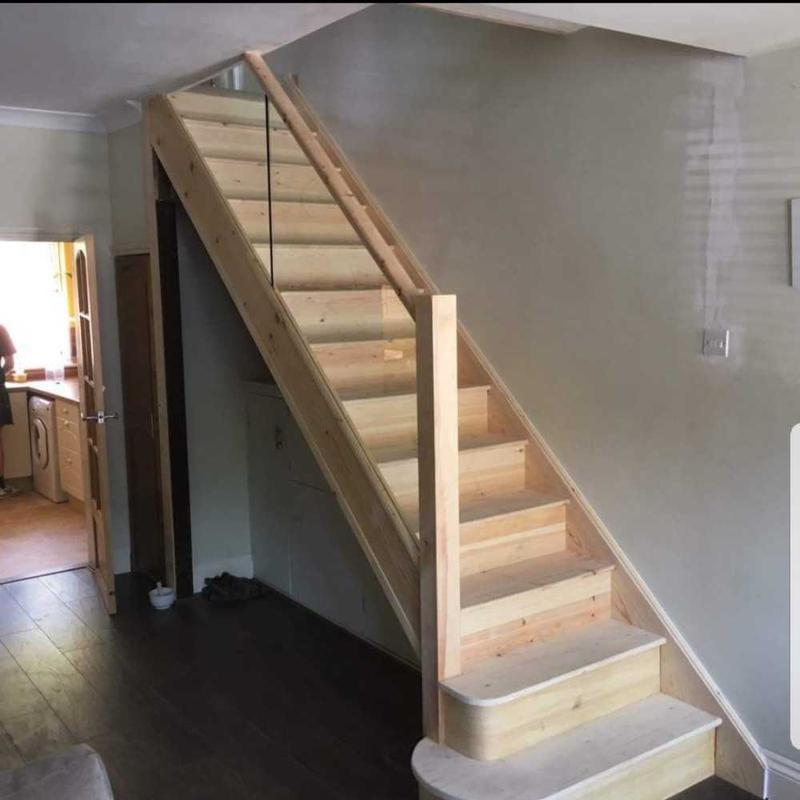 Image 11 - new complete staircase with glass bannisters ( kenley )