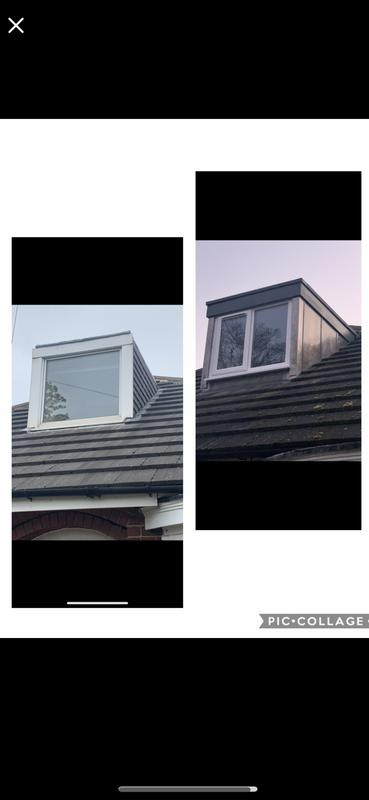 Image 63 - Recent dormer window upgrade
