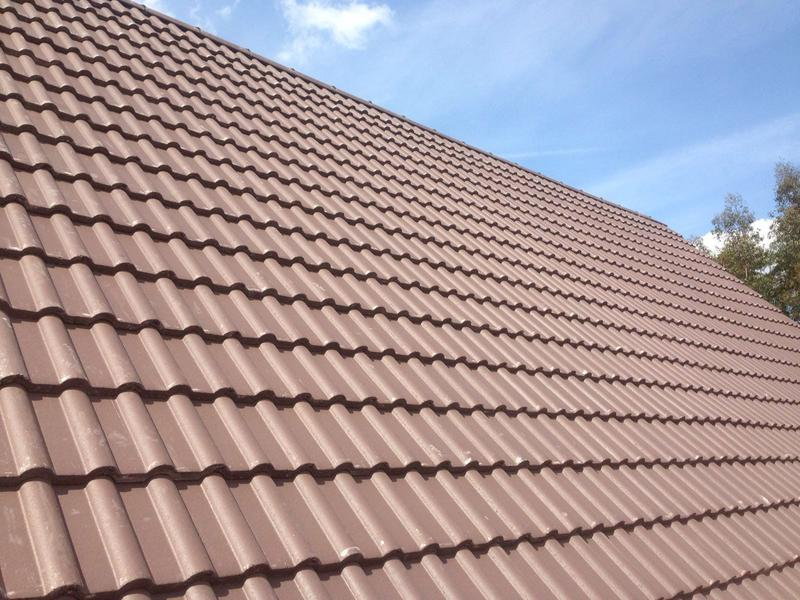 Image 4 - New Roof. These roof tiles can be used on high or very low pitched roofs.